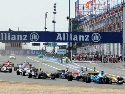 Francia podría quedarse sin Fórmula Uno en 2009