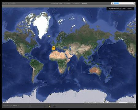 Cómo utilizar el módulo Mapa de Adobe Lightroom