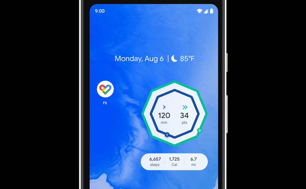 Google Fit launches widgets and improves the activity log