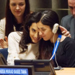 Amal Clooney se compromete en la defensa de una antigua esclava sexual del Daesh