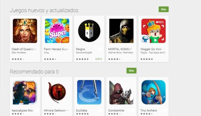 Juegos Googleplay