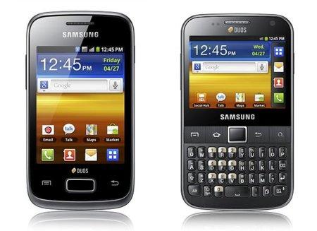 Samsung se apunta al Dual SIM con sus nuevos Galaxy Y DUOS