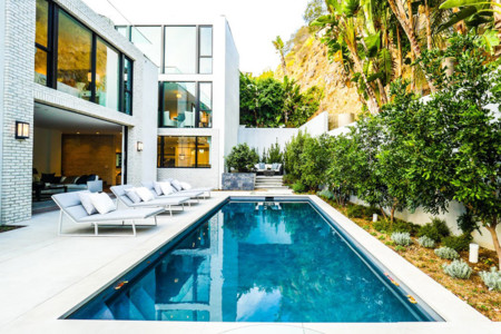 John Krasinski And Emily Blunt West Hollywood Home For Sale 1 8 16 Pool