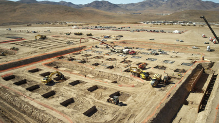 Gigafactory Construcción