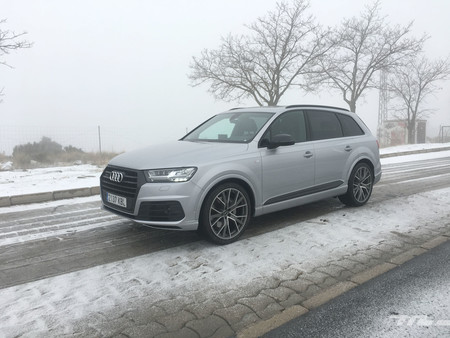 Audi Q7 Ultra en nieve