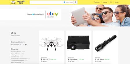 Ebay, tienda oficial en Colombia