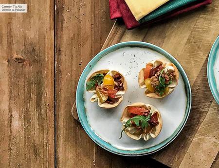 Tartaletas De Tomate Y Queso