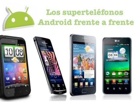 Los mejores teléfonos Android enfrentados