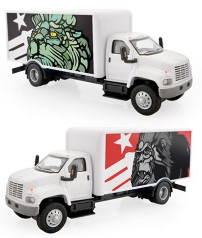 Camión de autor: graffitero en Nueva York