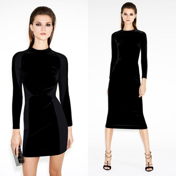 vestidos terciopelo