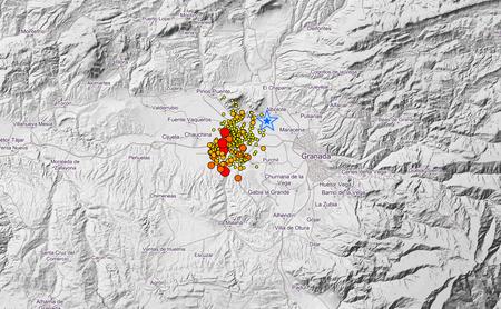 593 terremotos en 60 días: las históricas cifras del fenómeno sísmico que está viviendo Granada