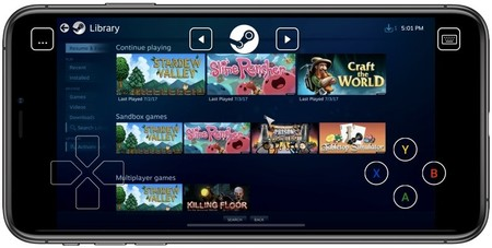 Iphone Steam Link