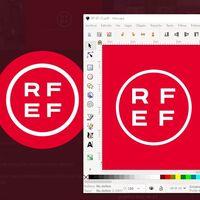 Así puedes replicar el nuevo logotipo de la Federación Española de Fútbol usando sólo plantillas y herramientas gratuitas