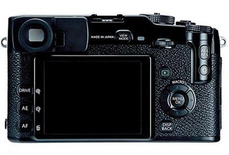Fujifilm X-Pro 1 trasera