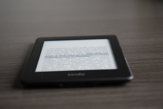 Kindle Paperwhite analizado en Xataka