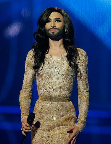 Y la mujer barbuda, Conchita, ganó Eurovisión