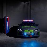 ¡Espectacular! El BMW i4 M50 eléctrico es el Safety Car que se estrenará en MotoE este fin de semana