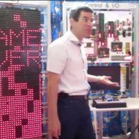 Este gigantesco e impresionante ordenador artesanal sirve para una sola cosa: jugar a Tetris