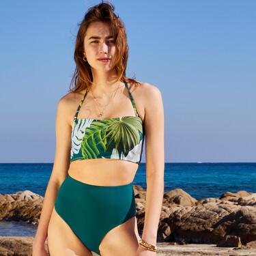Bikinis de talle alto: la moda retro que está arrasando este verano