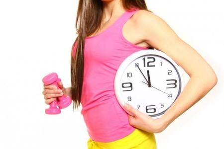 Para entrenar mejor, escoge la actividad durante el día