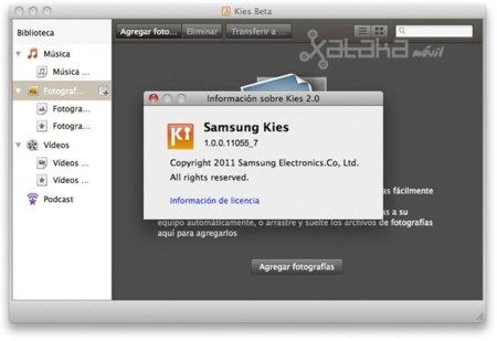 Samsung libera la beta de Samsung Kies 2.0 para Mac