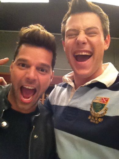 Ricky Martin ya enseña en 'Glee'