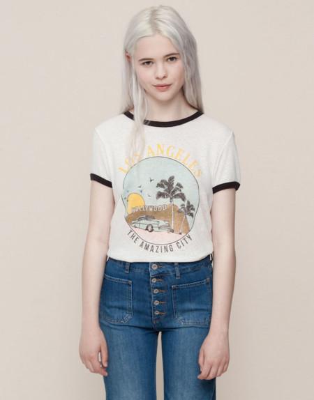 Camiseta Retro Los Angeles