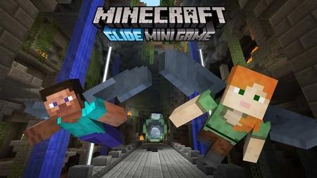 El mini juego Glide de Minecraft llegará de manera gratuita a la versión de consolas