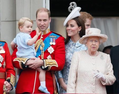 La reaparición de Kate Middleton tras el nacimiento de la princesa Charlotte