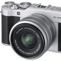 Hoy Amazon nos deja la pequeña y polivalente sin espejo Fujifilm X-A5 con objetivo 15-45 por 399 euros en sus ofertas de primavera