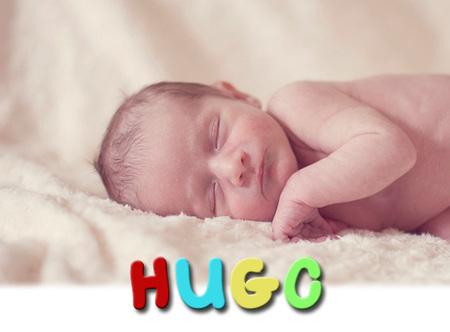 Los nombres de bebé más utilizados en España: Hugo