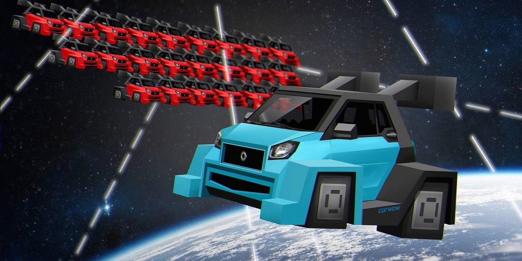 Space Invaders Smart ForTwo