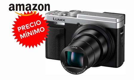 De nuevo a precio mínimo, hoy tienes en Amazon una cámara compacta con superzoom como la Panasonic Lumix DC-TZ95 por casi 70 euros menos