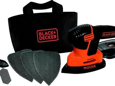 Oferta Flash en Amazon: sólo hoy la  lijadora Black and Decker KA2000 cuesta 28,90 euros