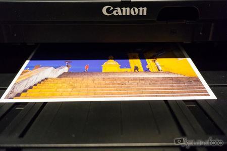 Canon Pixma iP8750 impresión a color