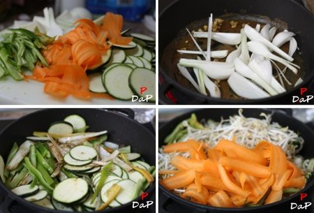 Cómo hacer Chop Suey de verduras