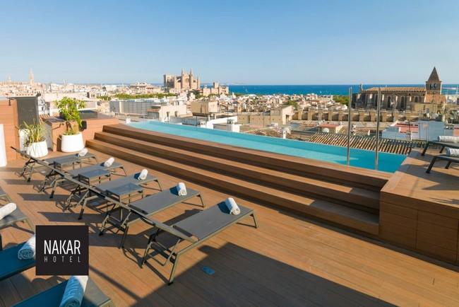 Rooftop Palma De Mallorca Hotel Nakar