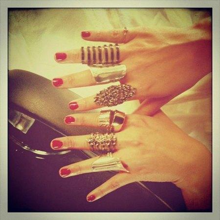 Anillos Alicia Keys