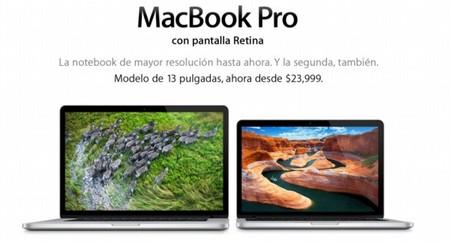 Apple actualiza los precios y procesadores de sus Macbook Pro Retina y Macbook Air