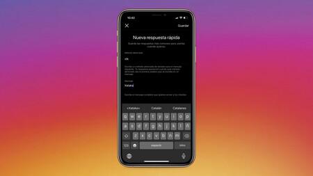 Cómo configurar respuestas rápidas en Instagram