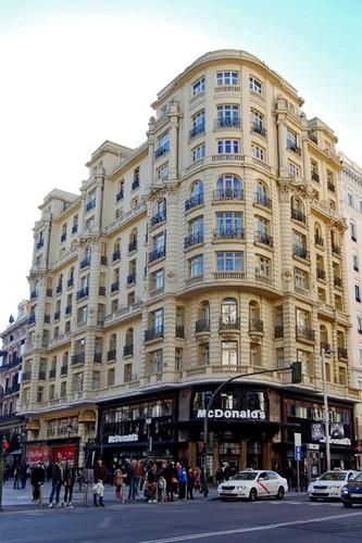 edificios emblemticos de la gran va de madrid segundo tramo i fotos