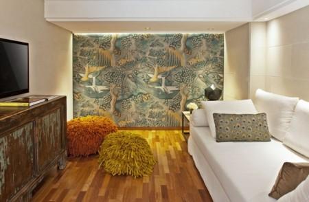 Hotel claris de barcelona arte historia y dise o en un for Descripcion de habitaciones de un hotel