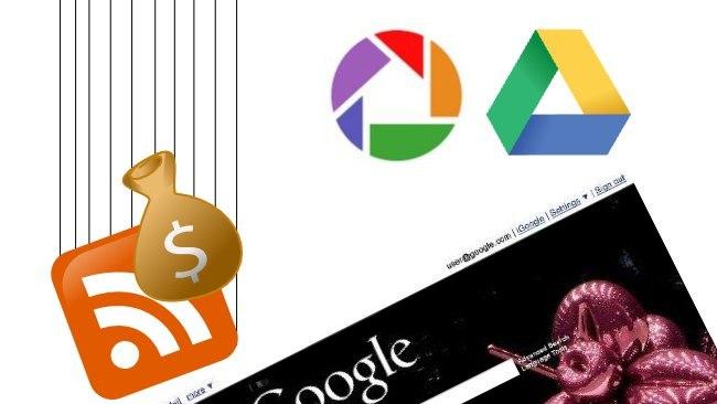 Google elimina adsense para feeds y une el espacio de Picasa y Drive, entre otras modificaciones
