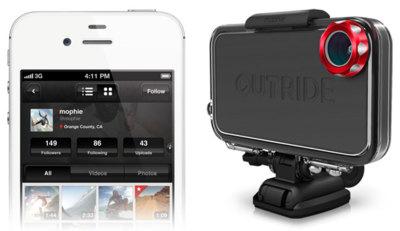 Mophie Outride, convierte tu iPhone en una GoPro