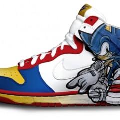 Foto 3 de 9 de la galería zapatillas-pintadas-con-personajes-de-videojuegos en Vida Extra