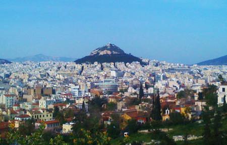El monte Lykavittos, mirador de Atenas