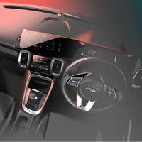 Así luce el interior del KIA Sonet, el mini SUV que se presentará la siguiente semana