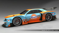 Vizualtech propone un Dodge Challenger para las 24h de Le Mans