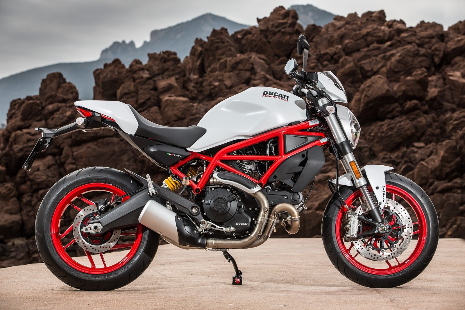 Ducati Monster  White