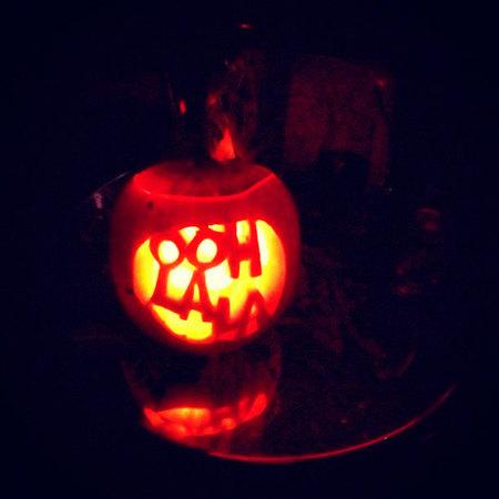 Halloween 2012: Que no se diga que los famosos patrios no se lo curran